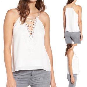 Women's WAYF Posie Strappy Camisole Size Large